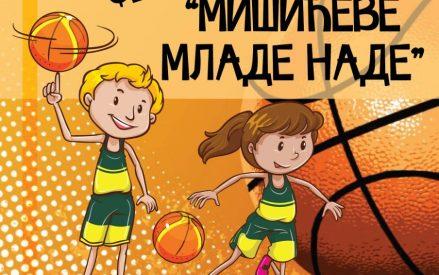 """Mini basket festival """" Mišićeve mlade nade"""""""